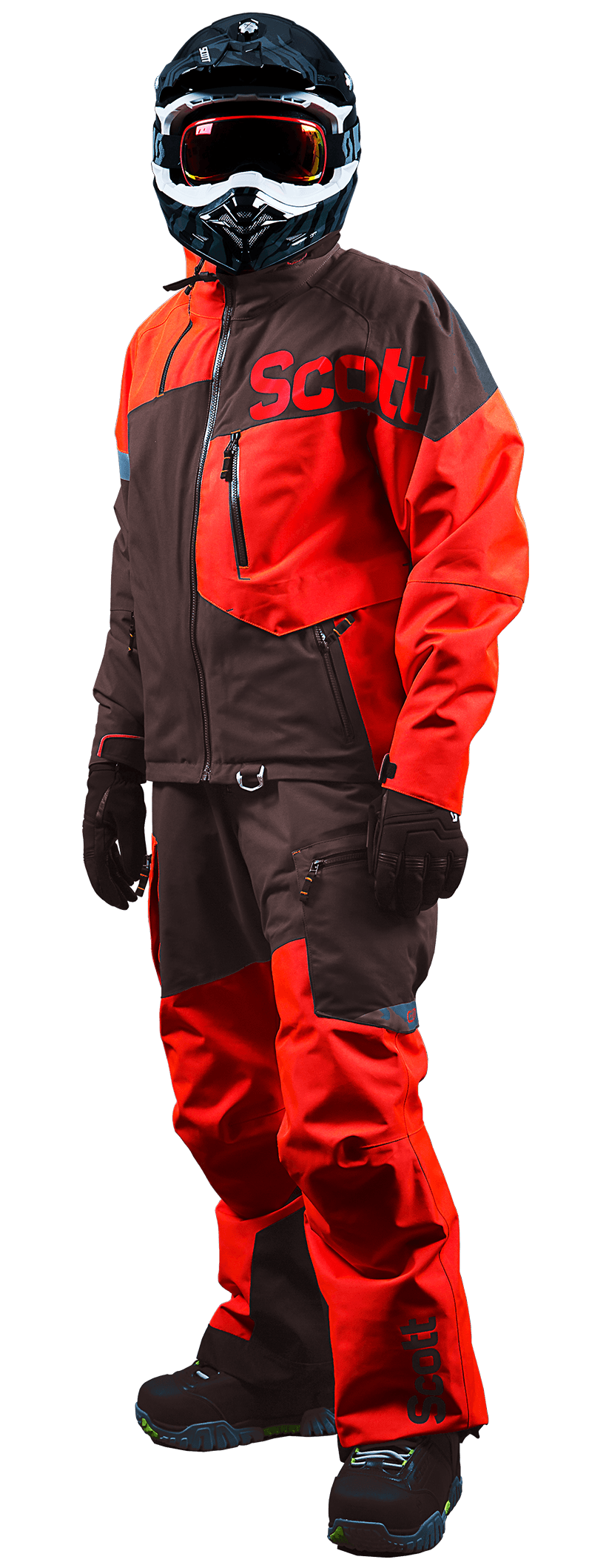 Snow Mobile Clothing : Snowmobile gear scott