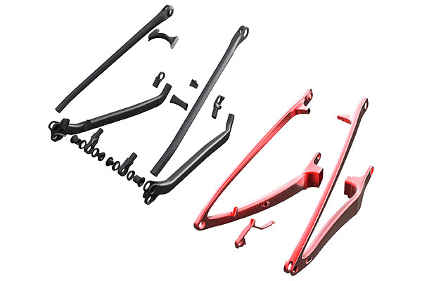 4ef18f429ae The rear triangle of the previous Spark consisted of 18 separate parts. The  new rear triangle is constructed from a single left and right hand moulded  ...